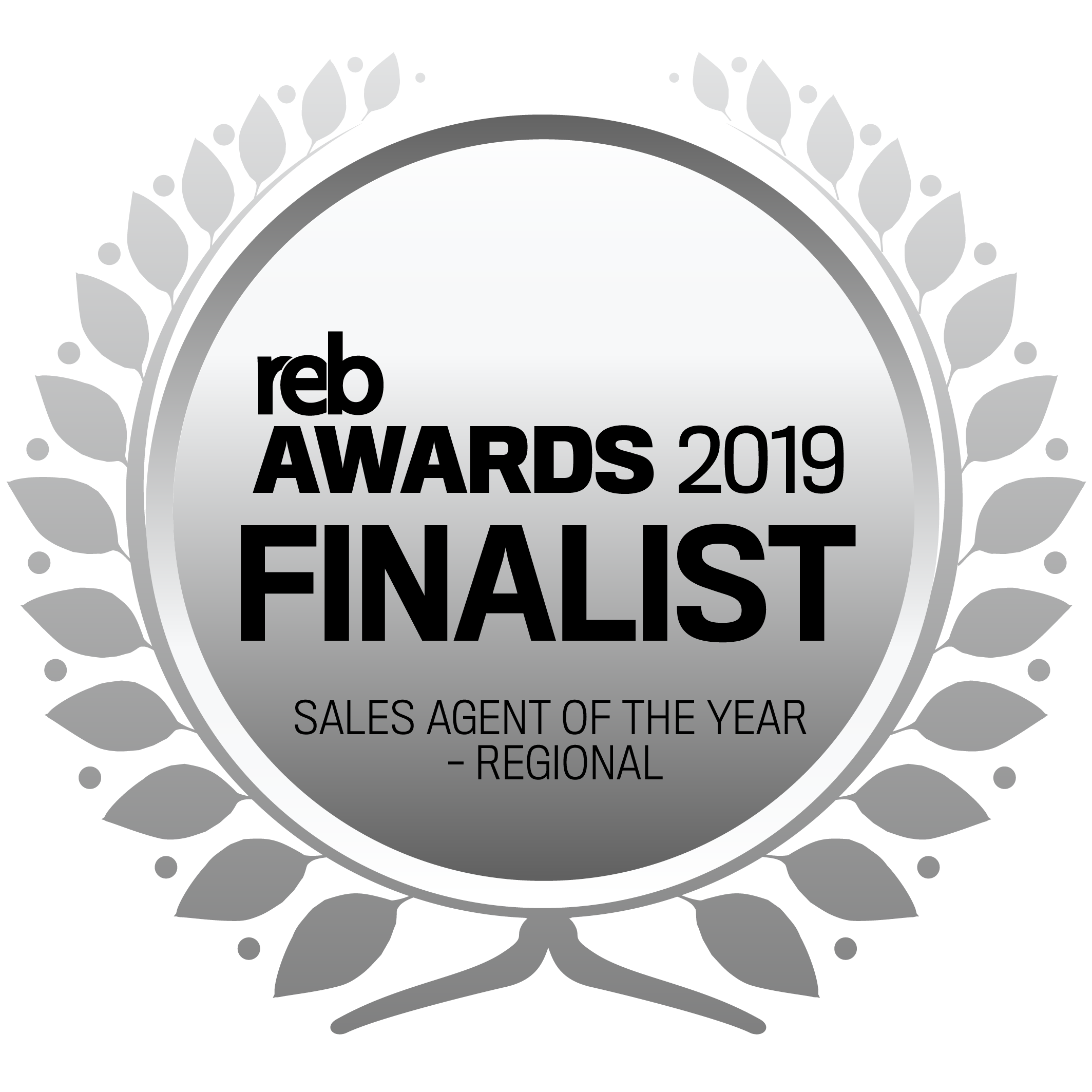 REB 2019_Seals_Finalists_Sales Agent of the Year - Regional