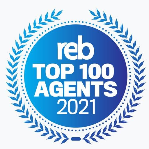 REBTop100Agents2021-Seal